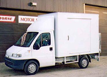 Luton/Box Vans