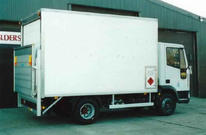 Substation Fitters Box Van Body (Oil Van)
