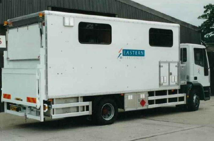 Degasser Box Van