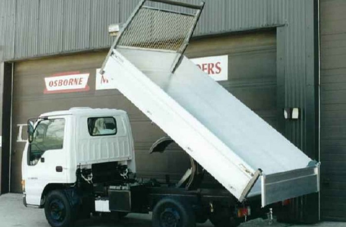 Budget Alloy Tipper – Clean Unpainted