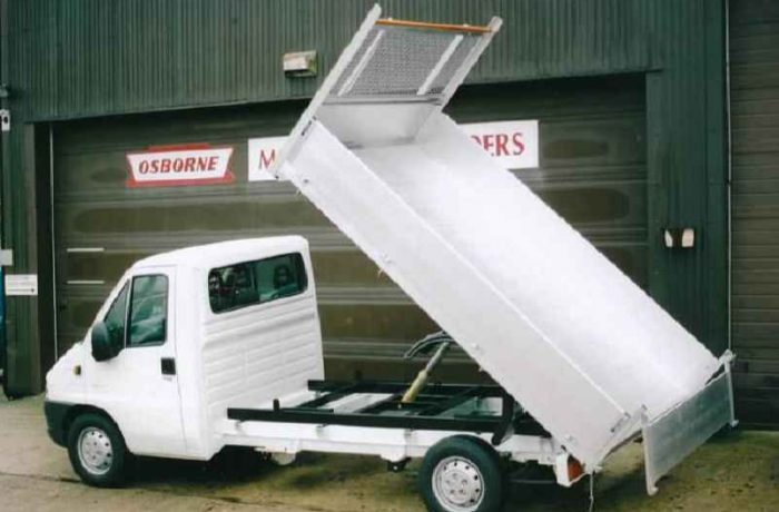 Osborne Motor Bodies All Alloy Tipper